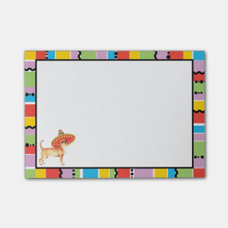 Fiesta Chihuahua Post-it® Notes