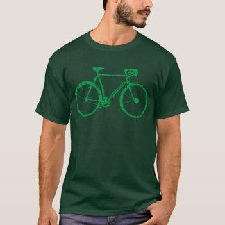 fiets. aardige fiets/cirkelen t shirt
