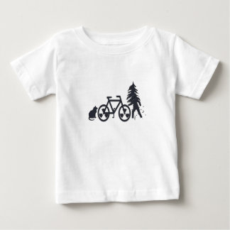Fiets Baby T Shirts
