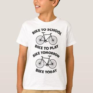 Fiets voor altijd - het Koele Cirkelen T Shirt