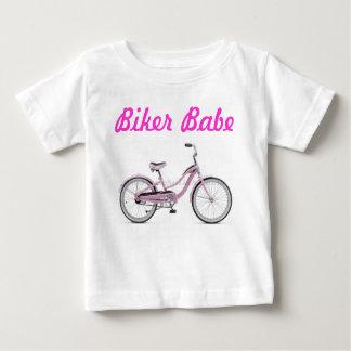 Fietser Babe - en Trots van het! Baby T Shirts