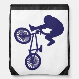 Fietser BMX Trekkoord Rugzakje