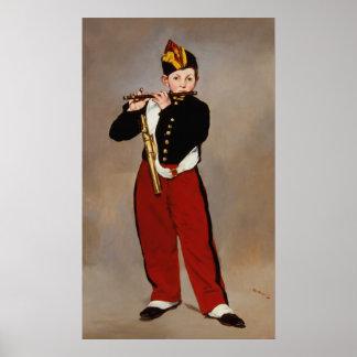 Fifer (de Speler van Fife) door Manet Poster