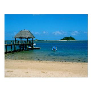 Fiji - Paradijs op Eiland dat Malolo wordt Briefkaart