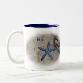 Fiji Seastar (Zeester) Tweekleurige Koffiemok