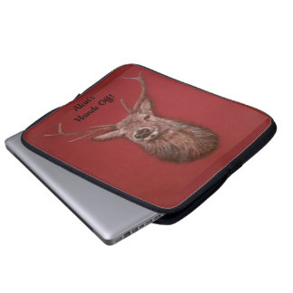 Fijn Laptop van het Mannetje van de Herten van de Laptop Sleeve