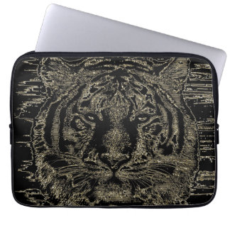 Fijne Kunst 3 van de tijger - Laptop Sleeves