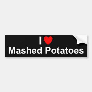 Fijngestampte Aardappels Bumpersticker