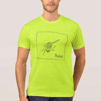 fijngestampte T-shirt
