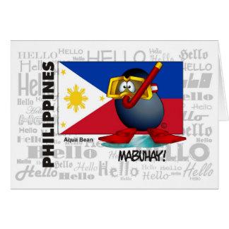 FILIPPIJNEN - Mabuhay Wenskaart