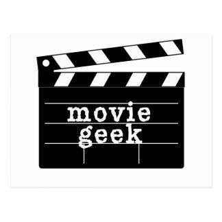 Film Geek met Dakspaan Briefkaart