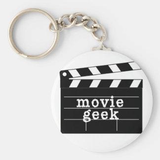 Film Geek met Dakspaan Sleutelhanger