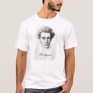 Filosoof Soren Kierkegaard T Shirt