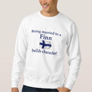 Fin bouwt Karakter Sweater