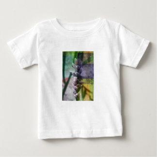 Final_flower op weefsel baby t shirts