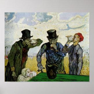 Fine Art. het van Drinkers (F667) Van Gogh Poster