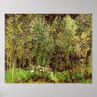 Fine Art. het van het Bosje (F817) Van Gogh Poster