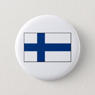 Finland - Finse Vlag Ronde Button 5,7 Cm