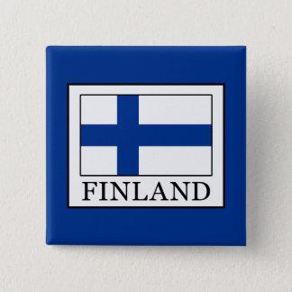 Finland Vierkante Button 5,1 Cm