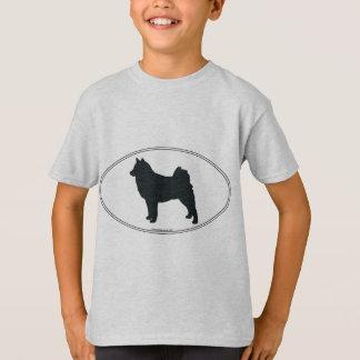 Fins Spitz Silhouet T Shirt