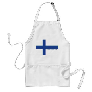 Finse de douaneschorten van de Vlag Schort