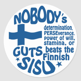 Finse stickers SISU
