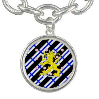 Finse strepenvlag bedel armbandjes