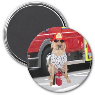 Firehouse Hond Magneet