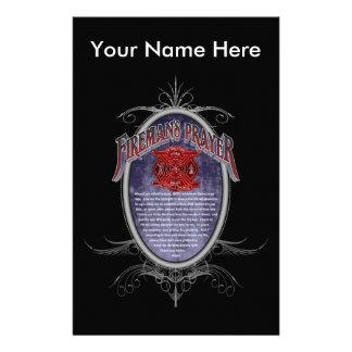 Firemans Prayer_ Briefpapier