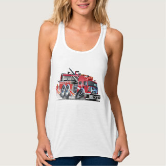 firetruck doorsmelting tanktop