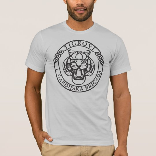 First Mechanized Guard Brigade Croatia The Tigers T Shirt