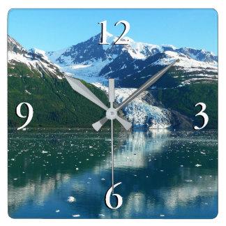 Fjord I van de universiteit de Mooie Fotografie Vierkante Klok