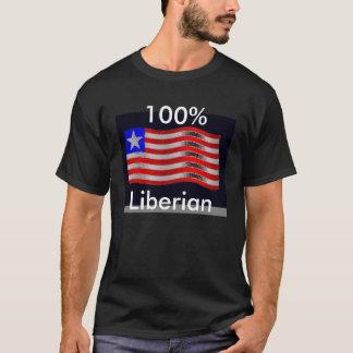 flag3, Liberiaan, 100% T Shirt