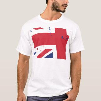Flag de U.K. English London T Shirt