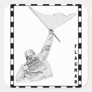 Flagman sticker