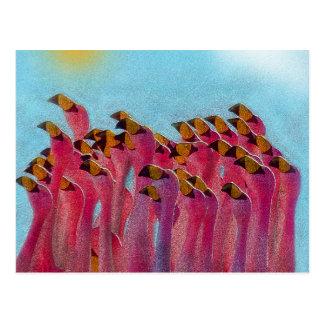 Flamingo Briefkaart