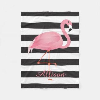 Flamingo Fleece Deken