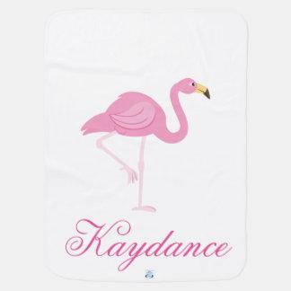 Flamingo & Roze en Paisley Inbakerdoek