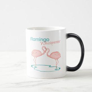 Flamingo Whisperer Kleurveranderende Mok