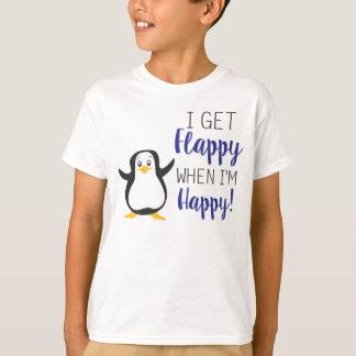 Flappy wanneer ik Gelukkig Overhemd ben T Shirt