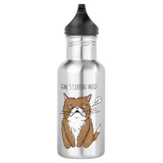 Fles van de Kat van Meh van de Stemming van de