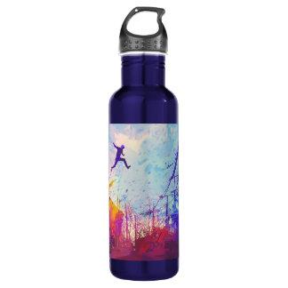 Fles van het Lopende Water van Parkour de