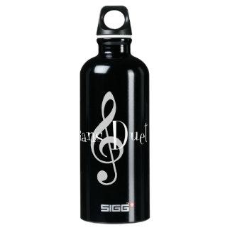 Fles van het Water Sigg van het duet (de