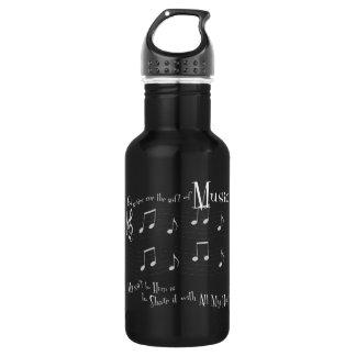 Fles van het Water van de gift de Donkere