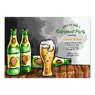 Flessen van de Uitnodiging van het Bier