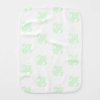 Fleur DE Lis bébé™ Groene de Munt van de Doek van Spuugdoekje