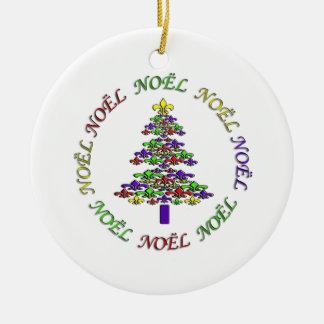 Fleur DE Lis Tree Noel het Ornament van Kerstmis