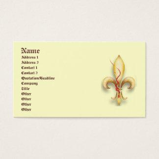 Fleur-DE-Lys! Visitekaartjes