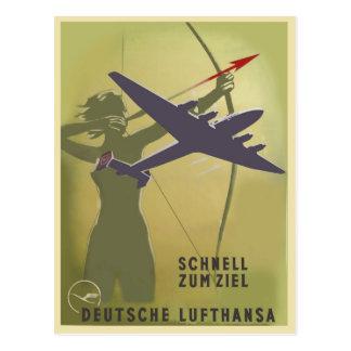 Fliegerei 1939 briefkaart