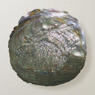 Flikkerende Abalone Zeeschelp, Mooie Natuur Rond Kussen